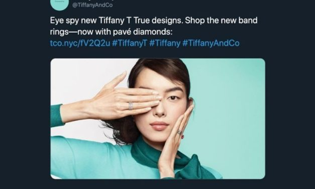 Tiffany Removes Ad Over Hong Kong Controversy